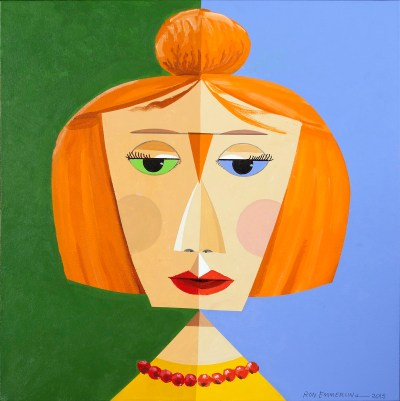 "<span>Lady With Orange Bun  </span> <span class=""reddot"">     </span>"