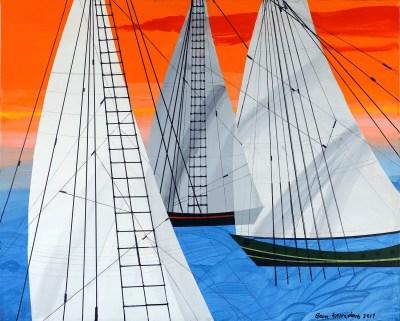 """<span>Sailing<br/>No. 5  </span> <span class=""""reddot""""></span>"""