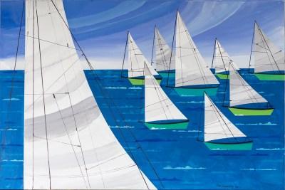 "Sailing<br/>No. 7<span class=""reddot""></span>"