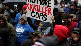 Protests Continue In Chicago After Release Of Video Of Police Fatally Shooting Teen