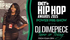 DJ Dimepiece BET Hip Hop Awards