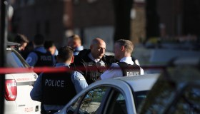 2 dead, 8 hurt in shooting at memorial for earlier rifle slaying