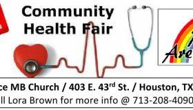 2017 Free Community Health Fair