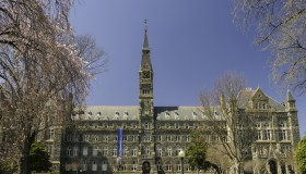 Georgetown University campus Washington, D.C., United States of America, North America