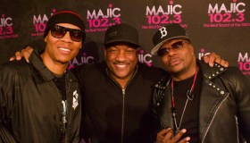 Donnie Simpson With Ricky Bell & Ronnie Devoe of Bell Biv Devoe