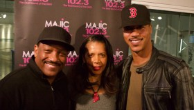 Donnie Simpson With Penny Johnson-Gerald & Brian J. White