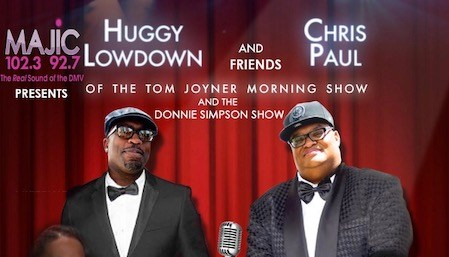 Majic presents Huggy Lowdown, Chris Paul & Friends