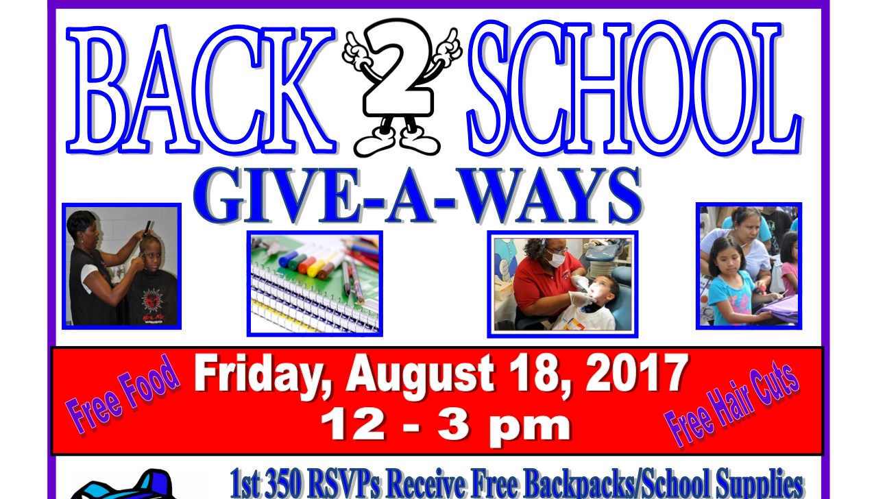 Marlow Heights Community Back To School Event