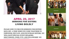 Sermon For Sisters Living Boldly