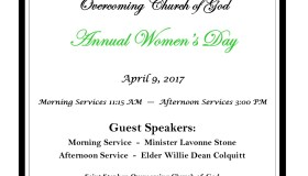 Saint Stephen Annual Women's Day