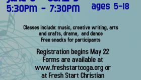 Fresh Start Christian Church Music Worhship And Arts Youthcamp