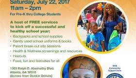 West End Church of Christ Back-to-School & Health Fair