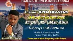 Open Heavens 4 Prophetic Sundays