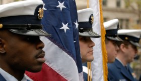 Veteran's Day parade in New York City