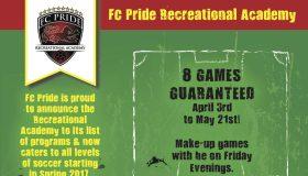 FC Pride Recreational Academy