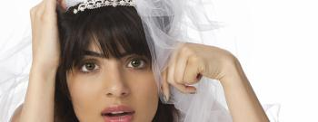 stressed out bride