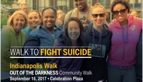 Out of the Darkness Indianapolis Walk Flyer