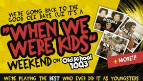 When We Were Kids Weekend