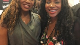 Veda Loca and MC Lyte at the 2016 BET Awards