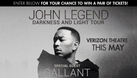 ohn Legend Darkness and Light Tour Ticket Giveaway