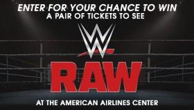 WWE Raw giveaway
