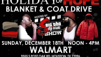 HOLIDAY OF HOPE BLANKET & COAT DRIVE