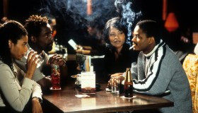 Nia Long And Larenz Tate In 'Love Jones'
