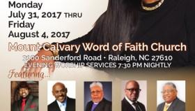 Mt. Calvary Word Of Faith