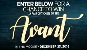 Avant Online Ticket Giveaway
