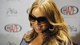 Mariah Carey And Ciara Host An Evening At Haze Nightclub