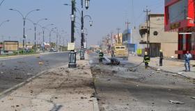 Two suicide bombers die in Kirkuk