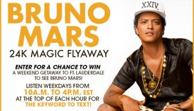BRUNO MARS 24K MAGIC FLYAWAY TEXT-TO-WIN SWEEPSTAKES