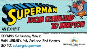 Superman Cleveland Public Library