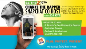 Updated Snapchat Chance the Rapper Contest Graphics