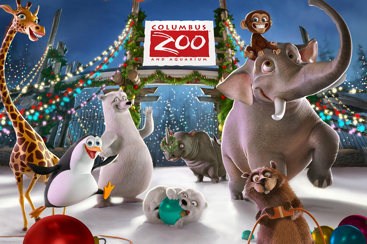 Zoo Lights 2017 Columbus