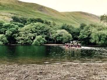 Rafting girls.