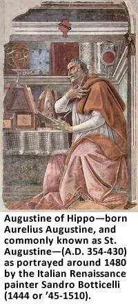 Augustine of Hippo by Botticelli