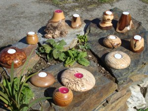 selection of Tea-light holders