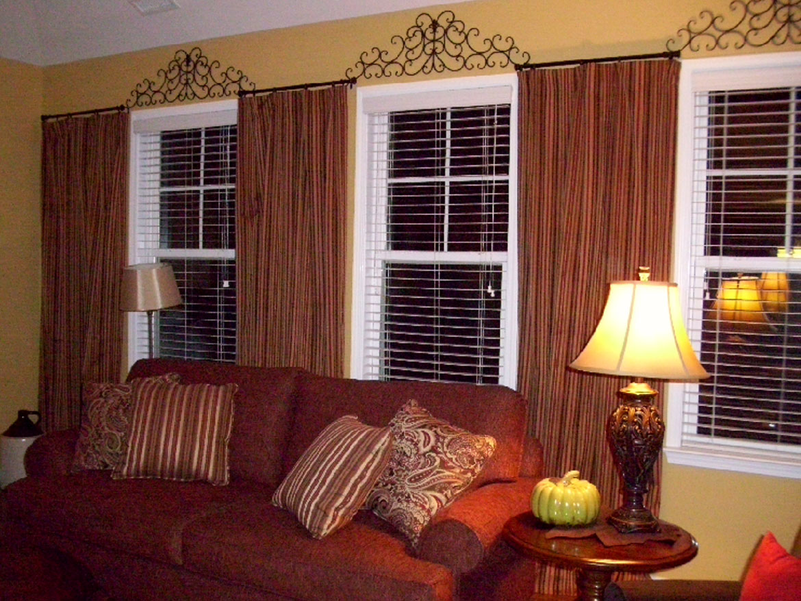 Striped Living Room Drapes Page 4 Ronica S Custom Creations