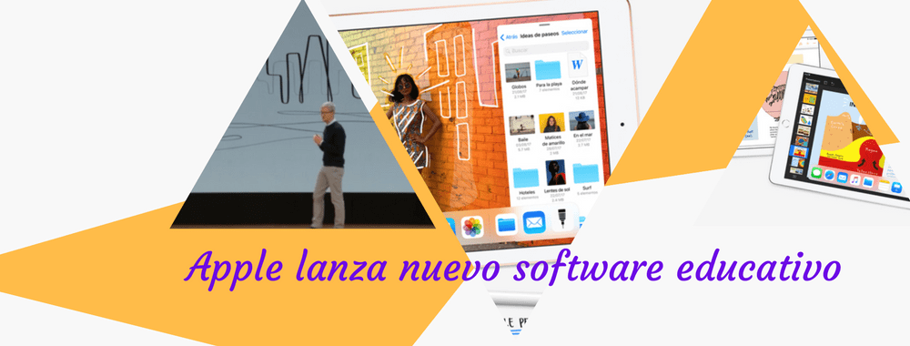 Apple lanza nuevo software educativo