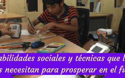 Balance entre habilidades sociales y técnicas: lo que los niños necesitan para prosperar en el futuro