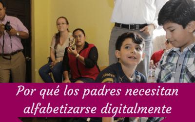 Por qué los padres necesitan alfabetizarse digitalmente