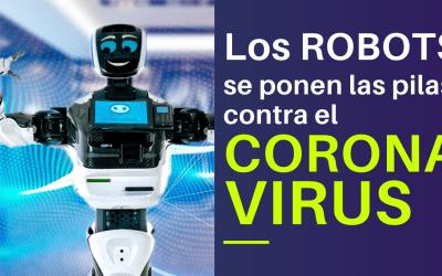Los Robots se ponen las pilas contra el coronavirus