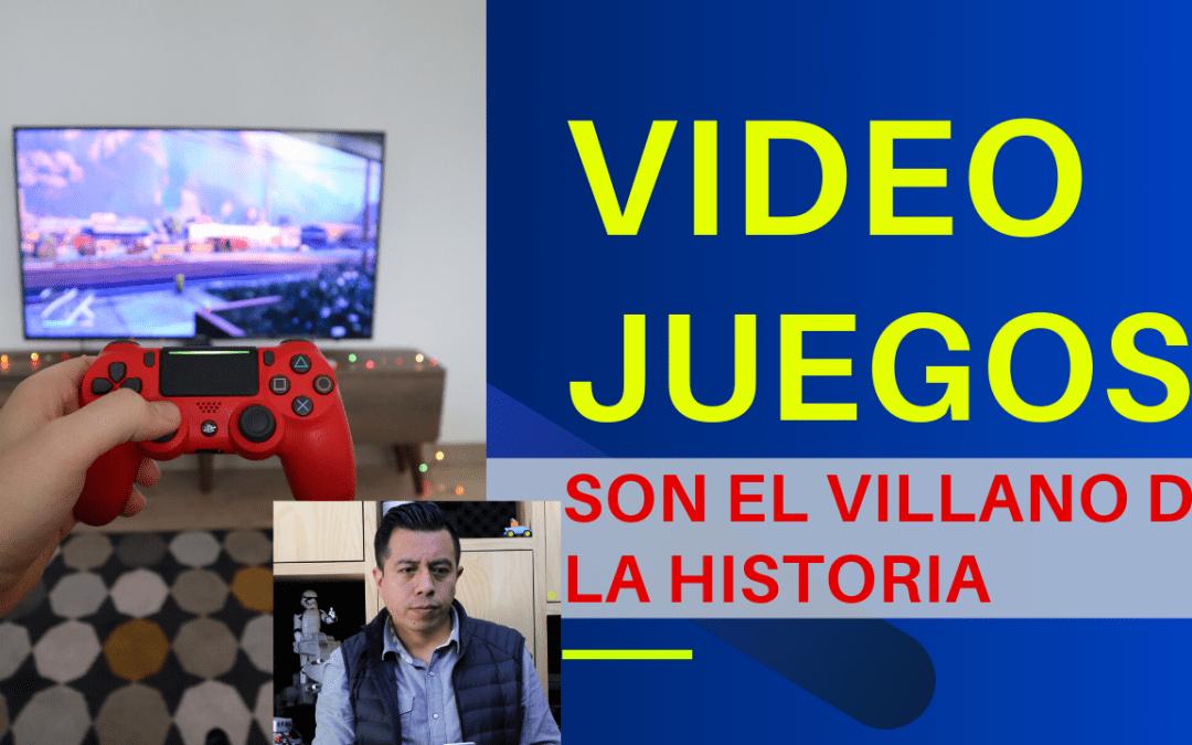 Los videojuegos son el villano de la historia