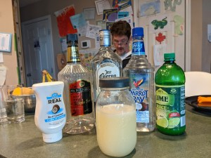 Coconut Margarita Ingredients