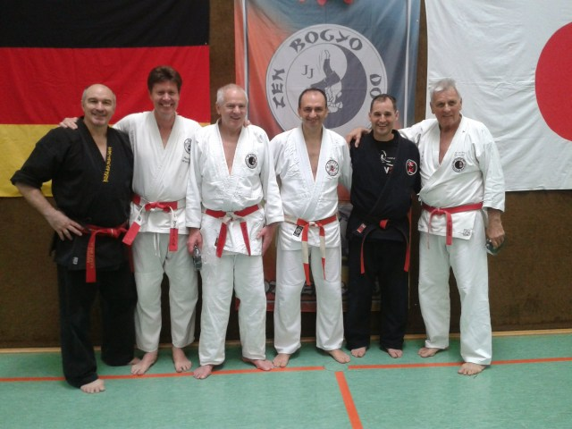 25. Internationaler Jiu Jitsu Lehrgang 14.-15.03.2015 in Otterbach
