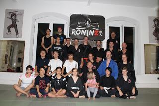 Deutsch-Japanisches Ju-Jutsu-Do Training 31.09.2016 in RoninZ Kampfkunstschule