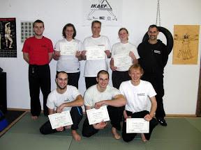 IKAEF Pruefung am 06.12.2012  in RoninZ Kampfkunstschule