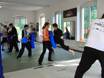Eltern-Kids-Training! mit Diplomsportlehrerin Sabrina Merseburg 23. Juli 2014 in RoninZ Kampfkunstschule