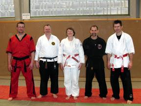 Jiu-Jitsu Jubiläumslehrgang 24. Maerz 2010 in Geislingen
